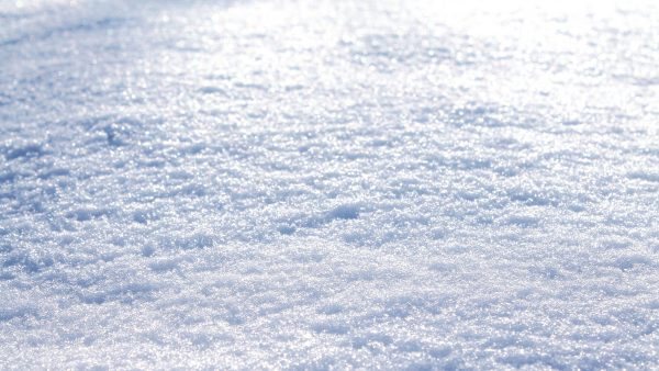 Winter wallpaper with white snow.