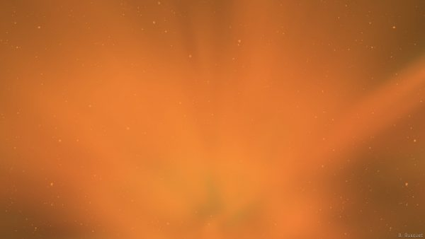 Orange abstract galaxy wallpaper