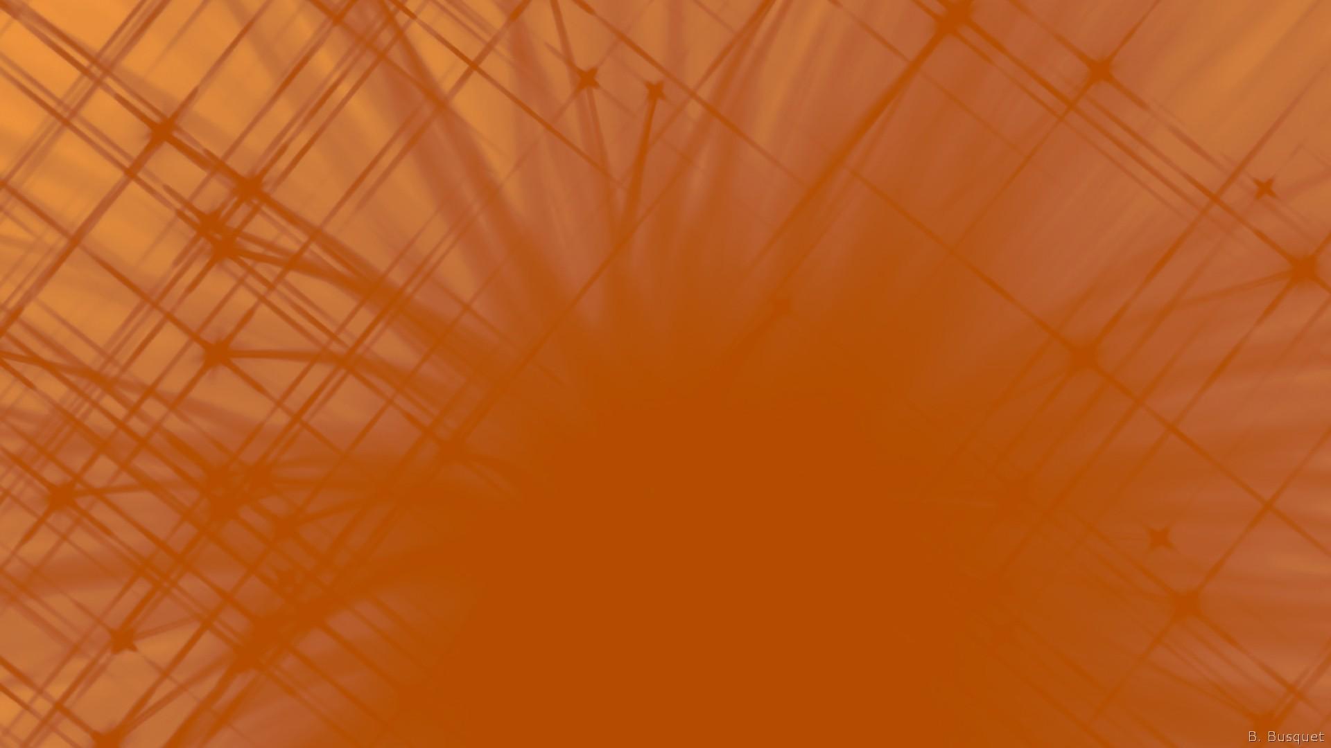 Orange Wallpapers on Green Spiral Paper