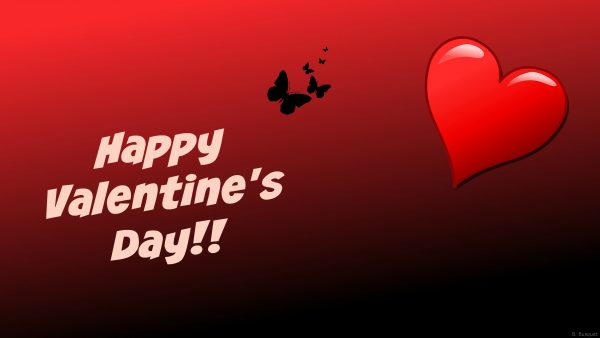 Red Valentines Day wallpaper