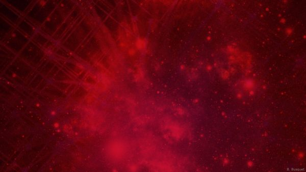Red abstract galaxy wallpaper