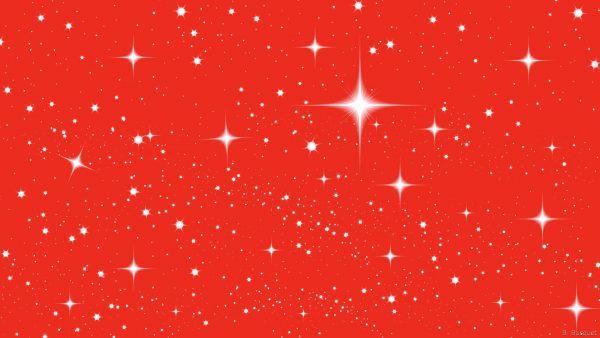 Smal and bigger white stars