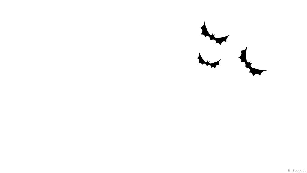 Simple wallpaper with bats