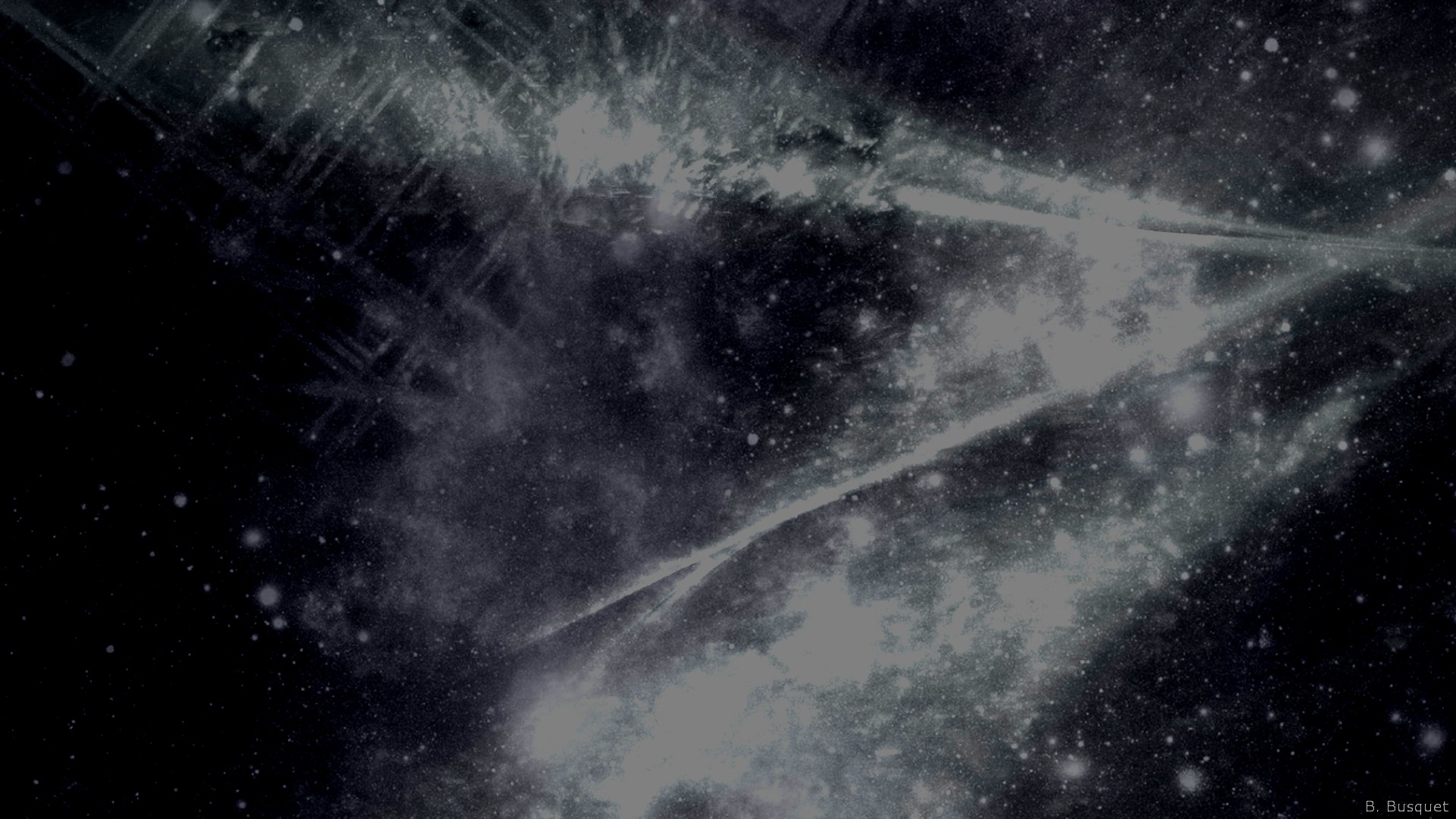 black and white galaxy wallpaper