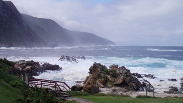 The sea in South-Africa.