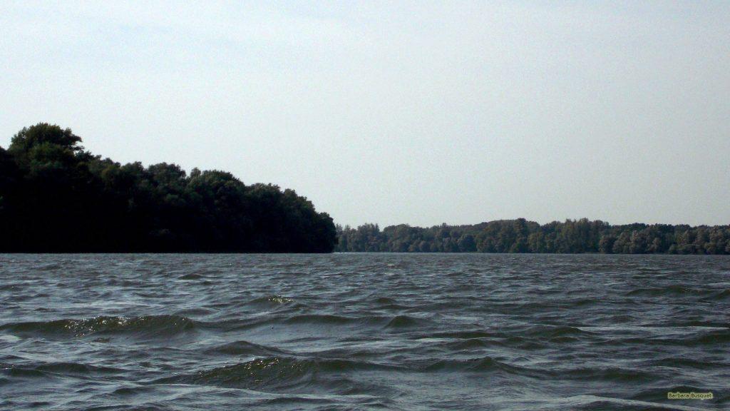 Photo of river Danube in Serbia.