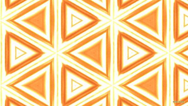 orange fire pattern