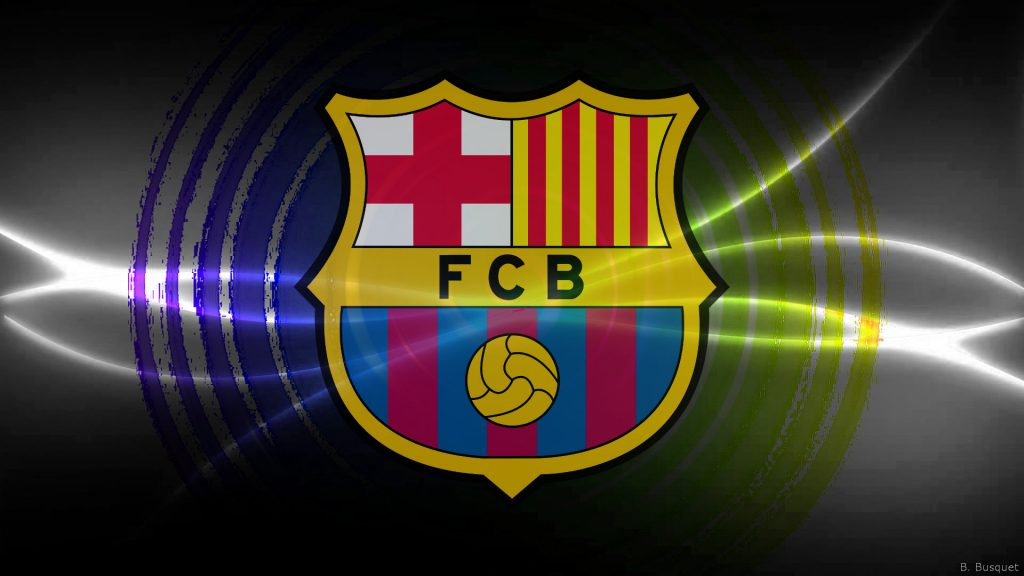 FC Barcelona in yellow purple colors