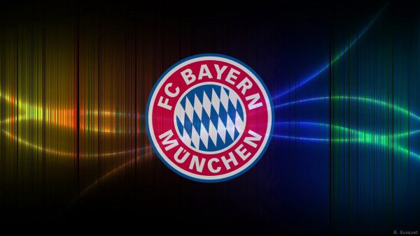 FC Bayern Munchen football wallpaper vertical lines