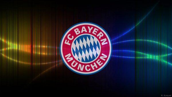 FC Bayern Munchen football wallpaper vertical lines