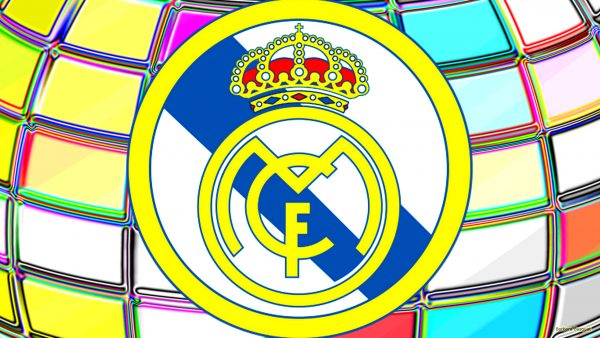 Real Madrid big logo wallpaper