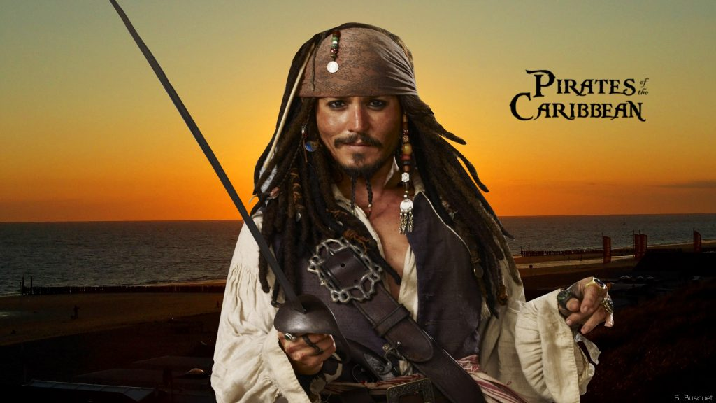 Pirates of the Caribbean wallpaper Jack Sparrow