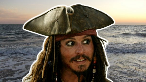 Pirates of the Caribbean wallpaper with Jack Sparrow