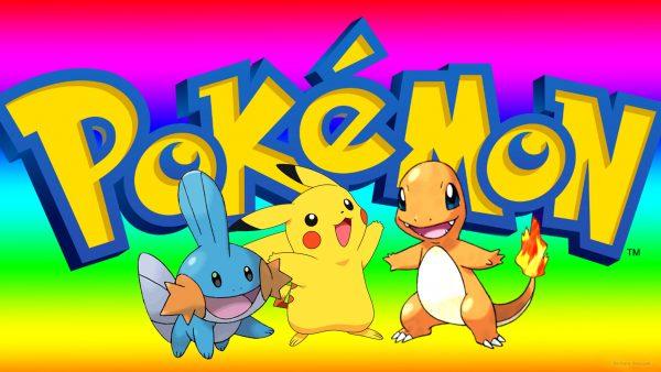 Pokemon Wallpaper with Pikachu, mudkip and Charmander