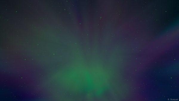 Blue green galaxy wallpaper