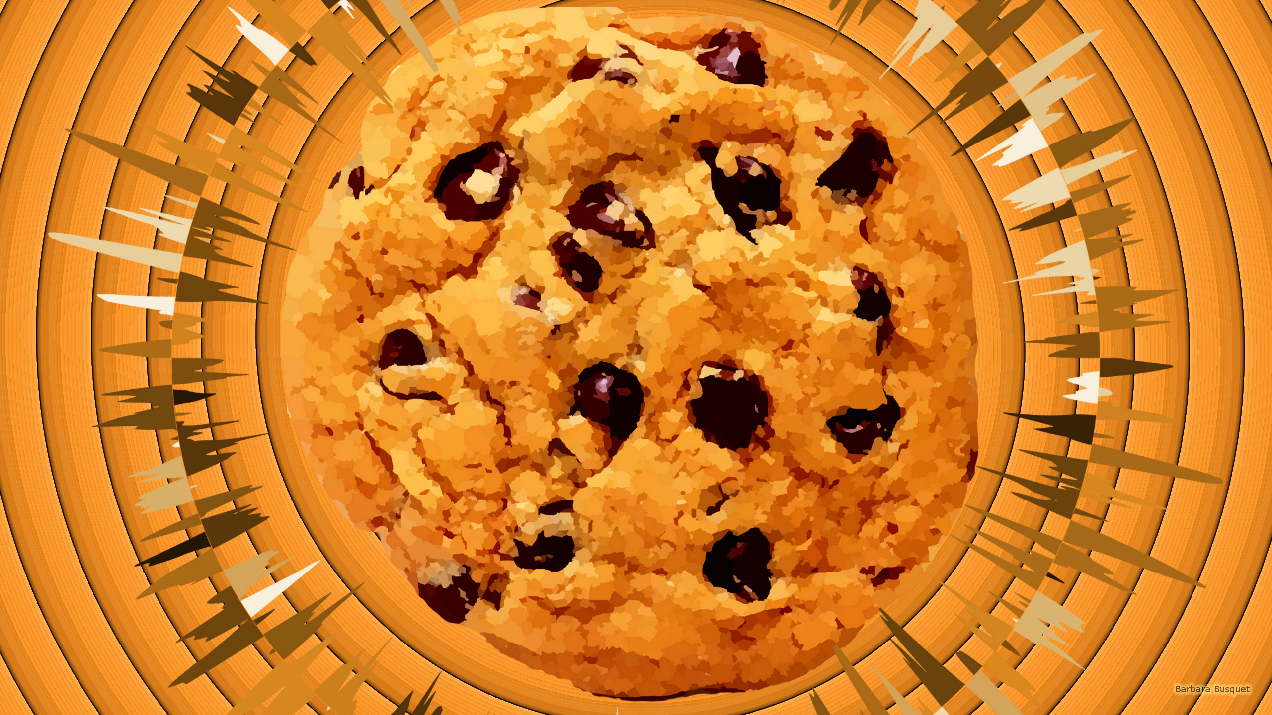 chocolate chip cookie wallpaper - photo #19