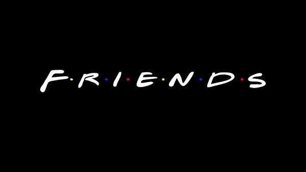 Friends series logo wallpaper