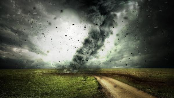 Tornado landscape wallpaper