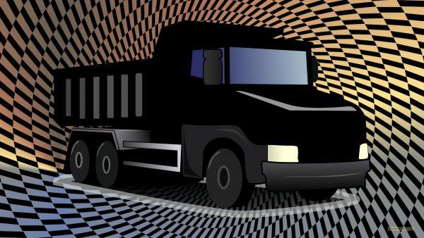A black truck