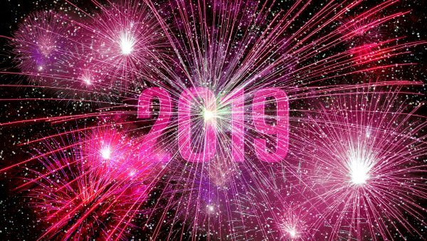 Fireworks wallpaper 2019 new years eve