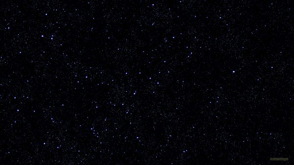 Black abstract wallpaper with stars.