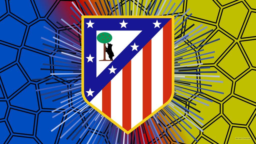 Atletico Madrid FC wallpaper big logo