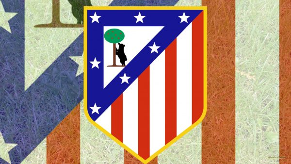 Atletico Madrid logo wallpaper