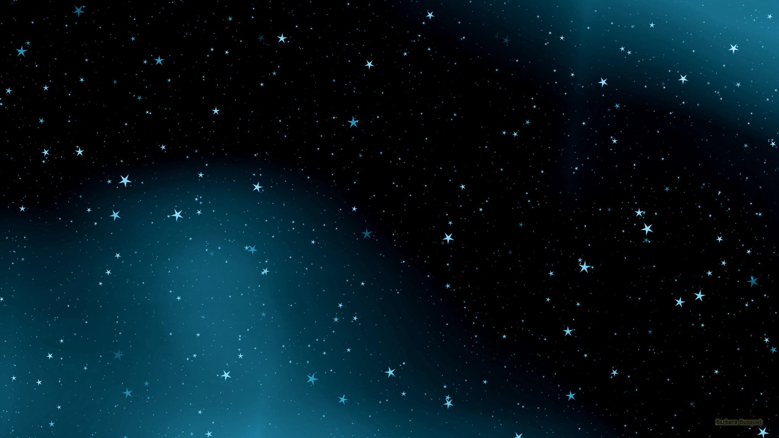 Black blue galaxy wallpaper 1