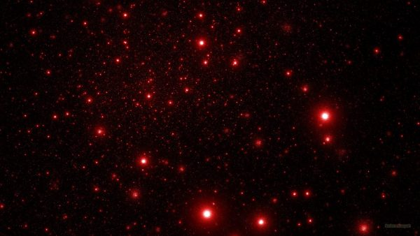 Black red space wallpaper.