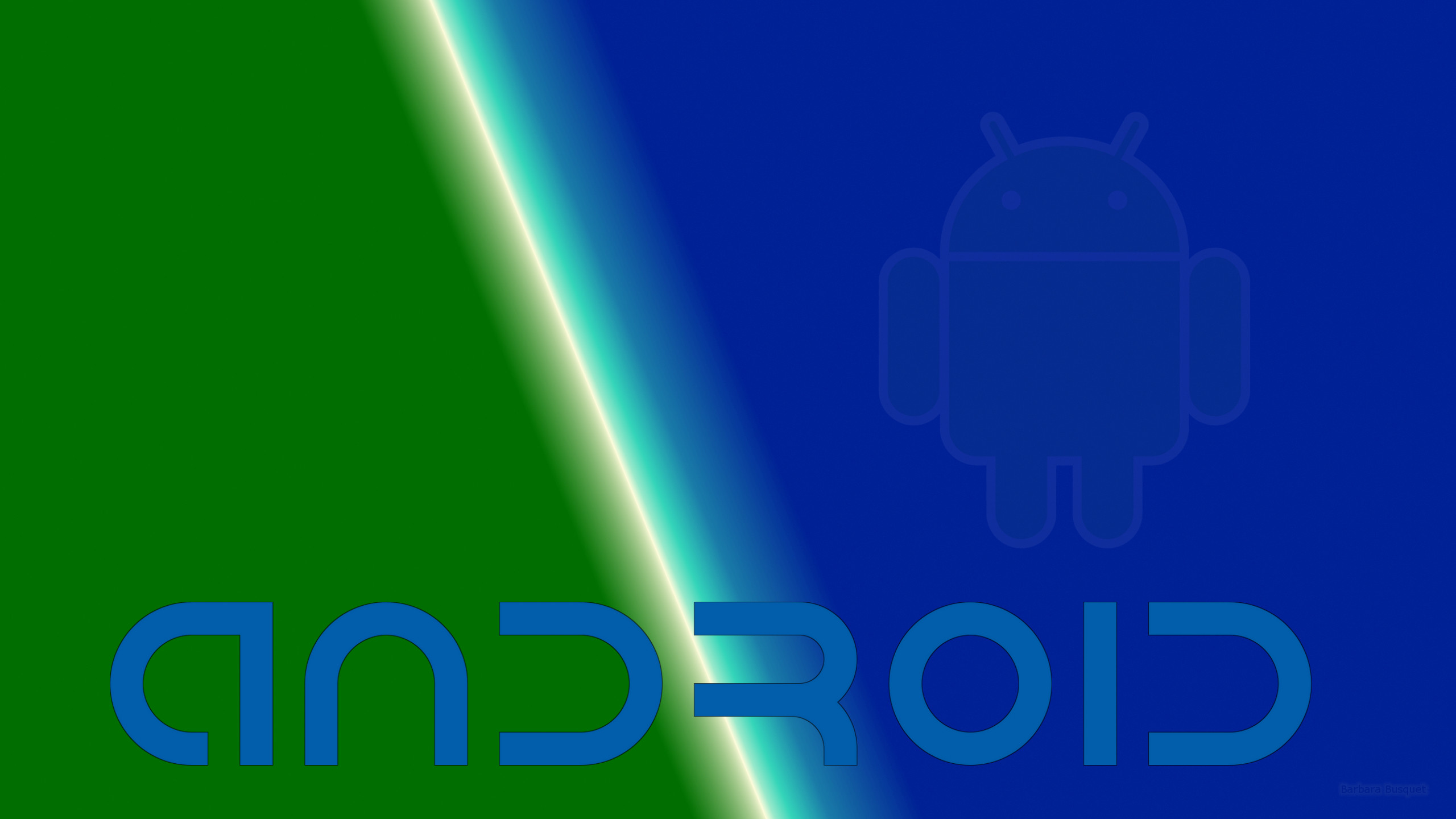 Green Android Robot