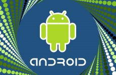 Android wallpapers with the green robot