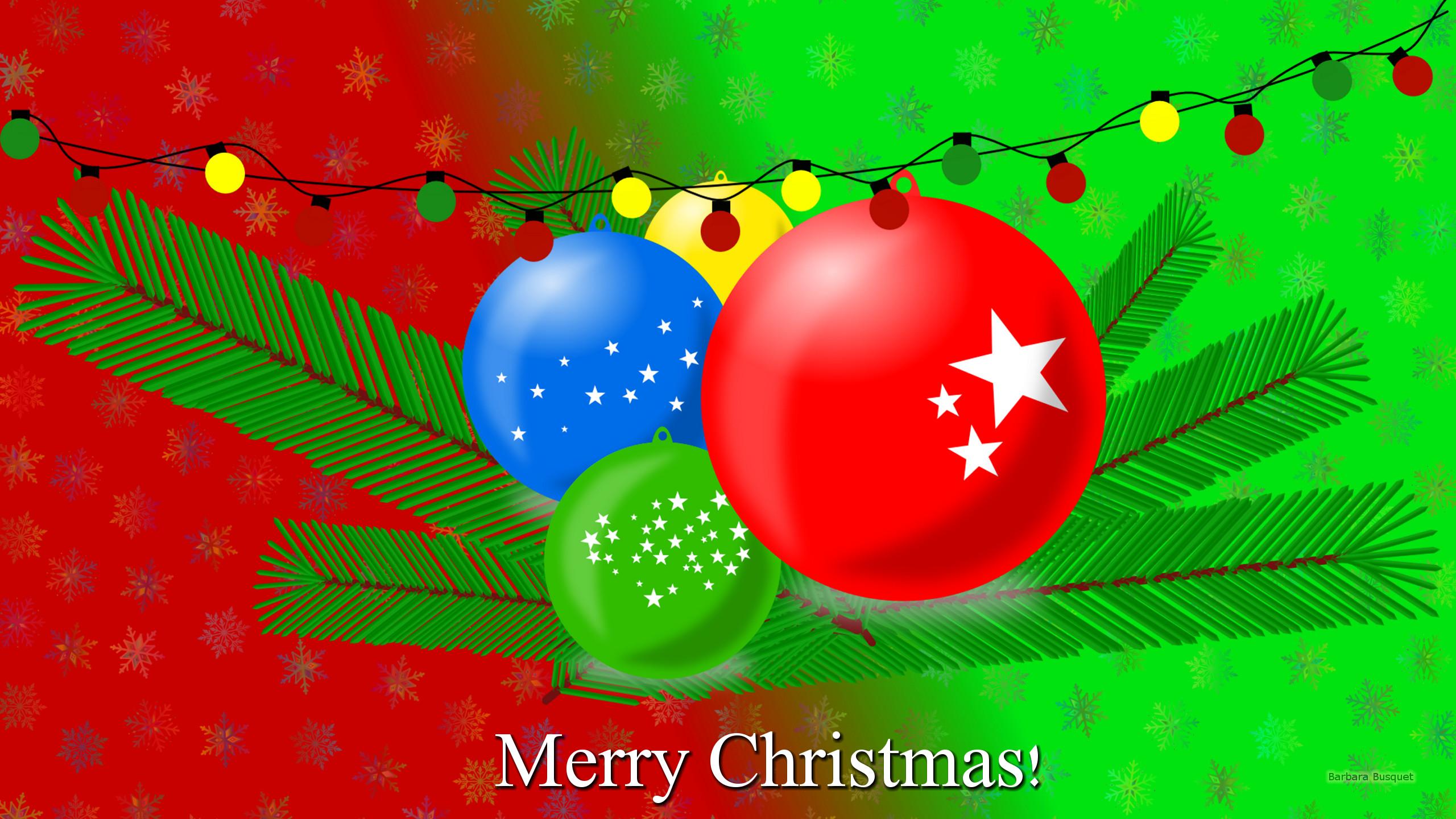 Christmas Balls Barbara S Hd Wallpapers