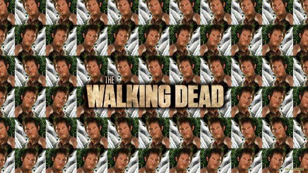 Daryl Dixon tiles wallpaper