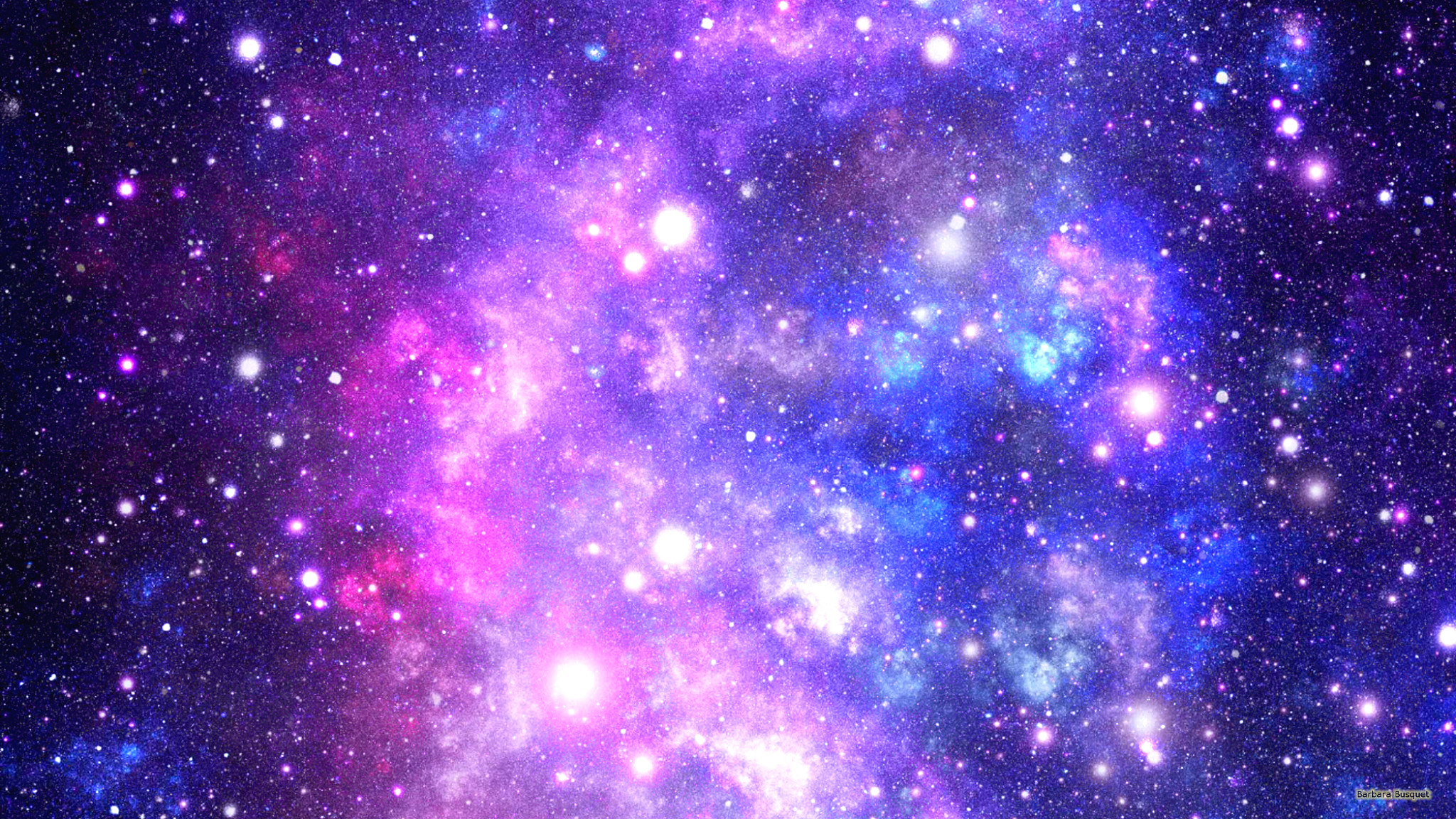 Galaxy wallpaper with colors and stars 1