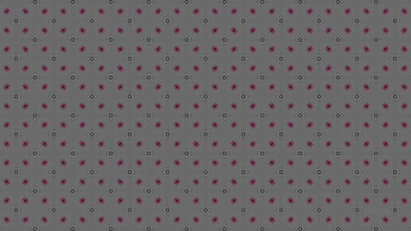 Gray wallpaper with a pink and black white pattern