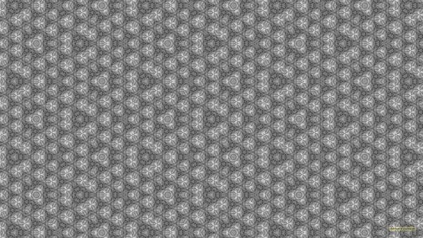 Gray wallpaper with irregular tiling pattern