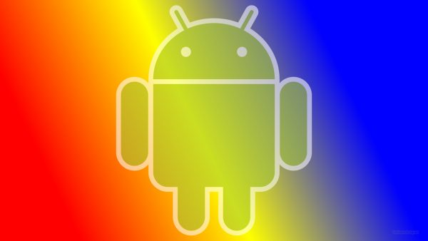 Red yellow blue Android wallpaper