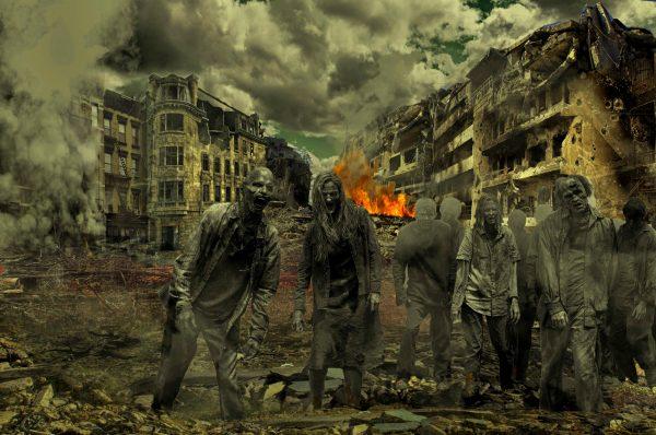 Walkers in The Walking Dead