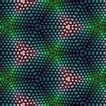 Abstract pattern wallpaper with dots
