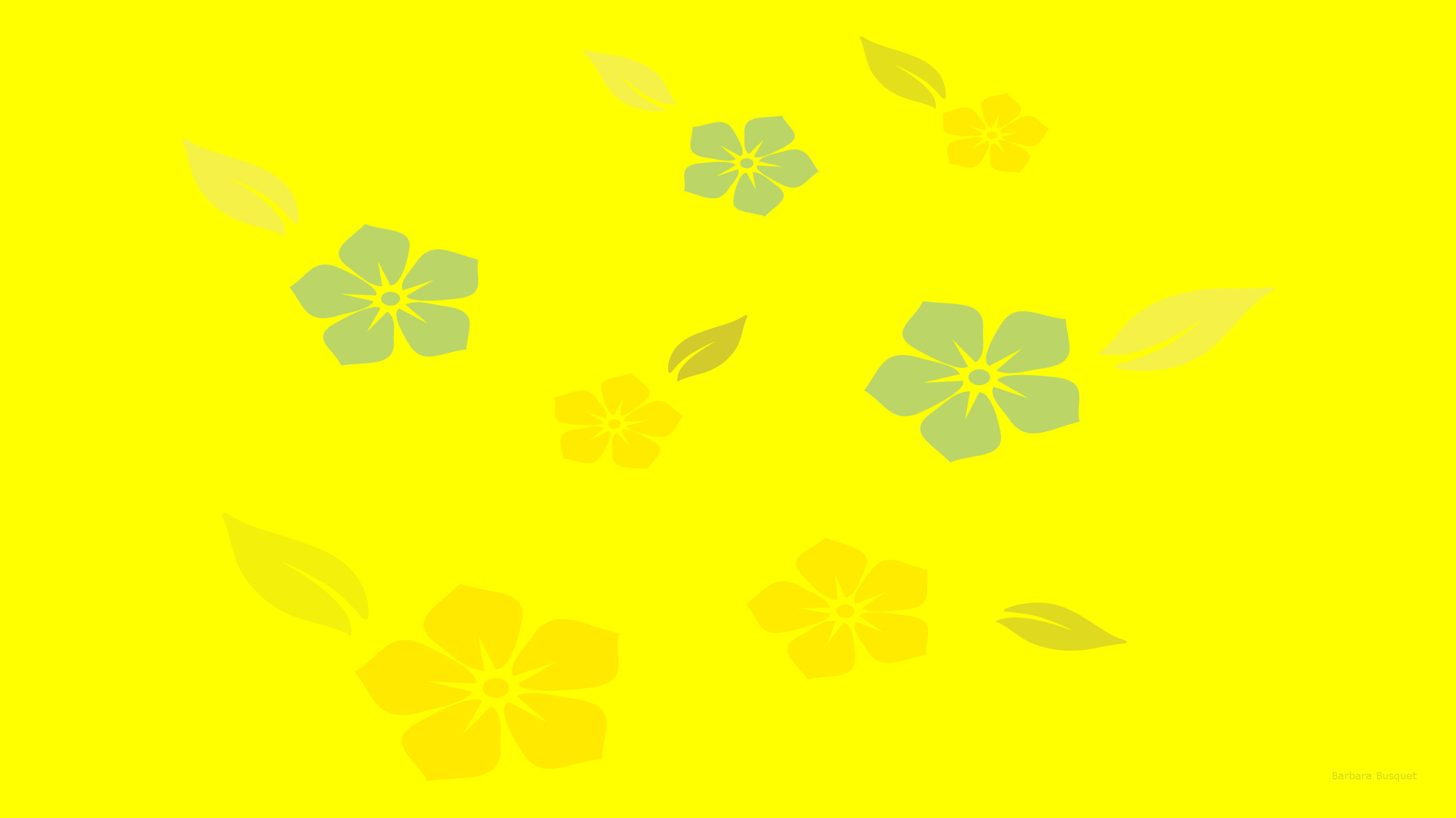 Simple Desktop Background With Flowers