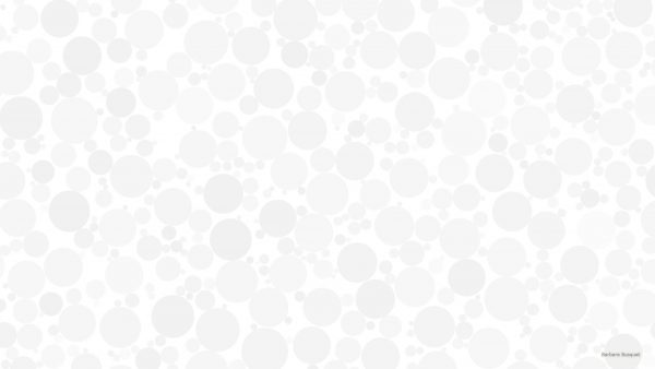 White wallpaper with dots.