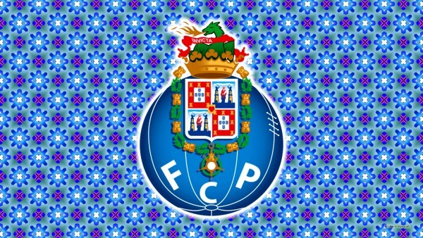 Blue FC Porto emblem wallpaper