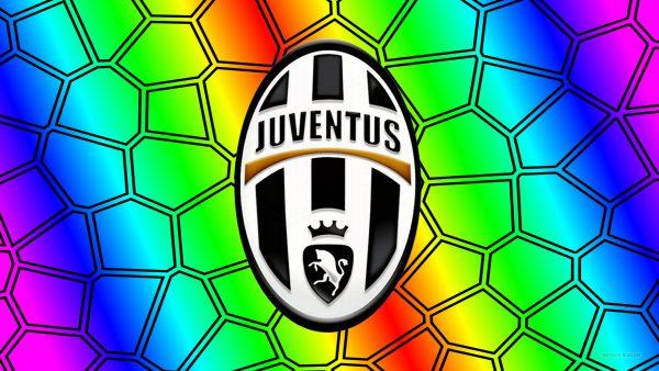 Colorful Juventus desktop wallpaper