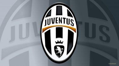 Gray Juventus logo wallpaper