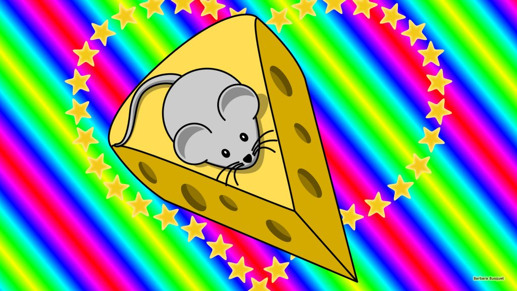 HD wallpaper mouse with cheese