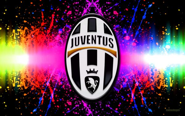 Juventus wallpaper with many colors.