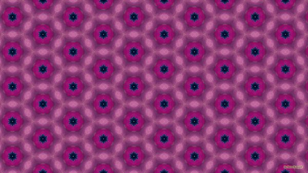 Pink blue pattern wallpaper