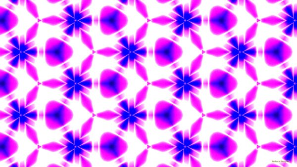 Luminous wallpaper in pink white and blue colors