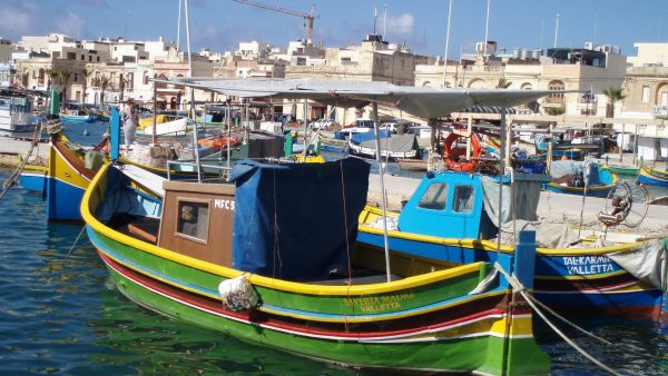 Colorfull boats