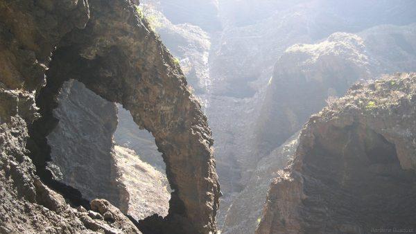 Rocks of the Masca Gorge on Tenerife